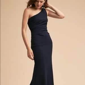 BHLDN Gwyneth Dress in Navy Blue